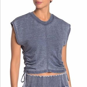On The Road Cecil Drawstring Side Top